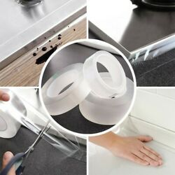 1 Roll Sealing Tape Wall Door Gap Seam Stickers Kitchen Self Adhesive Mouldproof $10.97