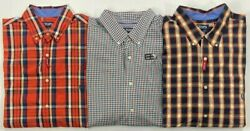 Men#x27;s Chaps Big amp; Tall Easy Care Stretch Long Sleeve Button Front Shirt $29.99