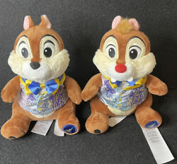 Disney 50th Anniversary Chip And Dale Plush New In Hand $54.99