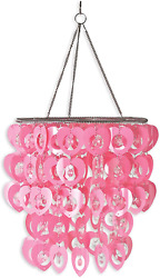 Wall Pops WPC96861 Ready To Hang Bling Chandelier Cupid $47.99