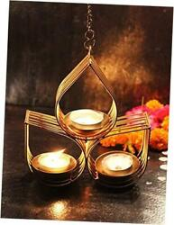 Wall Hanging Tealight Candle Holder Metal 23 cm X 21 cm Tealight Candle $21.55