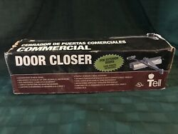 Tell Exterior Commercial Door Closer DC100002 Size 4 300 Series New Open Box