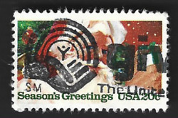 Scott# 2064 Christmas Contemporary with quot;GIVE THE UNITED WAYquot; slogan A 2 $1.15
