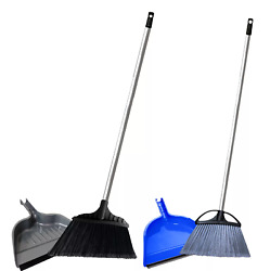 Member#x27;s Mark Commercial Indoor amp; Outdoor 2x Angle Brooms with 2x Dustpans