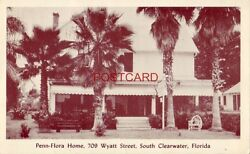 PENN FLORA HOME rooms by day week month Mrs. J O Apgar SOUTH CLEARWATER FL. $14.99