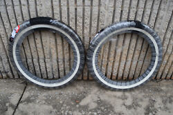 VRM 011 Vintage White Wall Street Tire Set Front amp; Rear $152.00