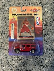 2003 04 Fleer Ultra LeBron James Rookie Card RC With H2 Hummer Sealed $79.95