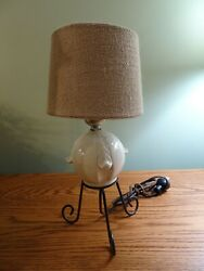 Mid century Modern Table Lamp with Shade $24.50