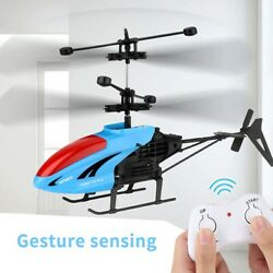 Rc Drone Mini Helicopter Kids New Aircraft Flying Infrared Drones Electronic Toy $34.67