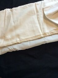 ☘️ NEW ANTIQUE MUSEUM RARE FIND IRISH LAWN LINEN LARGER WIDTH FROM N IRELAND ☘️ GBP 21.95
