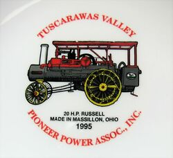 1995 Tuscarawas Valley Pioneer Power Assoc Plate 20HP Russell Massillon OH $29.99