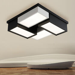 Dimmable Acrylic LED Ceiling Light Modern Lamp Pendant Dining Room Fixture Decor $84.55