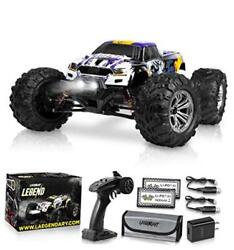 1:10 Scale Large RC Cars 50 kmh Speed Boys Remote Control Purple Yellow $241.27