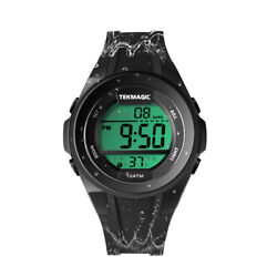 Boys Watch for Swimming Scuba Diving 100m Underwater with StopwatchChronograph $24.99