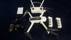Hubsan Zino Quadcopter Drone with FPV 4k camera Gently used flown 3 times $220.00