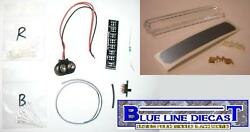 1 18 Flashing LED Police Lightbar Do It Yourself Kit for Any Model WITH LENSE $19.99