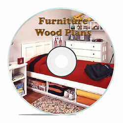 FURNITURE BUILDING PLANS FOR A KIDS LOFT BED OR BUNK BABIES CHANGING TABLE CD