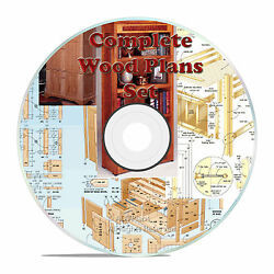 ALL OUR WOOD PLANS 1 DVD HOBBY OUTDOOR CUSTOM FURNITURE PLANS