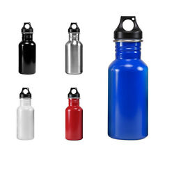 Wide Mouth 17 oz 500 mL Stainless Steel Water Bottle - BPA Free