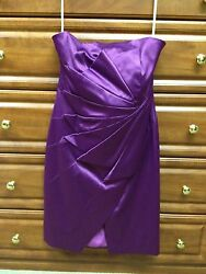 KAREN MILLEN PURPLE PARTY DRESS US 8 UK 12 $99.99