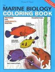 The Marine Biology Coloring Book 2e by Thomas M. Niesen (English) Paperback Boo