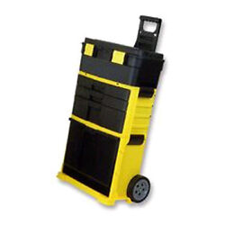 NEW Plastic Rolling Workshop Tool Chest Mobile Portable Parts Storage on Wheels