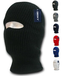 1 Hole Facemask Face Mask Tactical Beanies Balaclava Army Military Skiing Biker $9.95