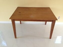 Medium Sized Wooden Table $50.00