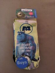 New Disney Pixar MonstersInc. Boys Socks 4 Pack $5.95