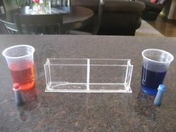 Plastic Water Density Demonstration Box