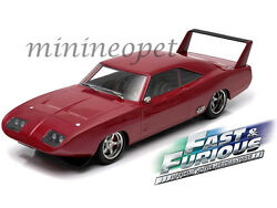 GREENLIGHT 19003 FAST & THE FURIOUS 6 DOM'S 1969 DODGE CHARGER DAYTONA 118 RED
