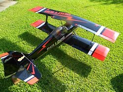2 1 4 scale RC planes 62cc gas electronic smoke systems hi torque servos $5000.00