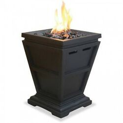 Gas Fireplace Pit Outdoor Patio Fire Porpane Back Yard Heater Deck Table Top