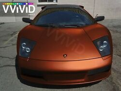 Vvivid Xpo copper satin chrome vinyl car wrap decal