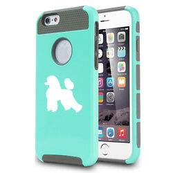 For iPhone X SE 5 5s 6 6s 7 8 Plus Shockproof Impact Hard Soft Case Cover Poodle $14.99