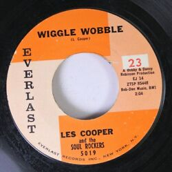 Soul 45 Les Cooper And The Soul Rockers - Wiggle Wobble  Dig Yourself On Everla