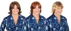 Ladies Man Wig Mens That 70s Show Costume Accessory $14.95