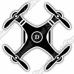 Drone DJI Quadcopter Flight Flying Car Bumper Window Vinyl Sticker Decal 4.6quot; $3.50