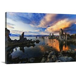 Solid-Faced Canvas Print Wall Art entitled Magical Mono Lake