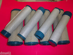 REPLACEMENT INNEROUTER AIR FILTERS FITS JOHN DEERE ZERO TURN RIDERS 4 PK AFJD4 $69.00
