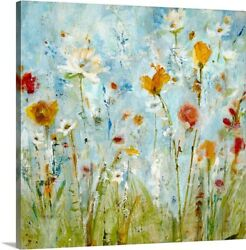 Jounce Canvas Wall Art Print Floral Home Decor $29.99