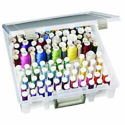 Thread Spool Holder Large Capacity Removable Trays Embroidery Sewing Supplies