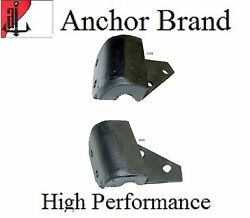 2 PCS Manual Transmission Mount Kit for Bel Air 1955 1956 1957 235 265 Engine $26.38