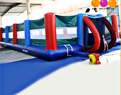 40x20x12 Commercial Inflatable Soccer Court Football Feild Sports We Finance 99%