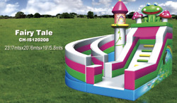 30x35x25 Commercial Inflatable Bounce House Combo Water Slide Castle We Finance
