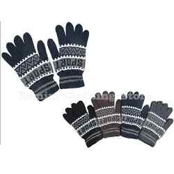 MEN'S WOMEN XL MAGIC WINTER SNOW SPORT WARM KNITTED GLOVES WHOLESALE LOT Xmas