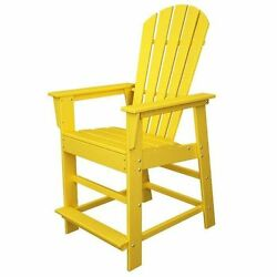 POLYWOOD South Beach Adirondack Counter Chair