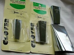 Sewing Supply Lot Clover Bias Tape Makers Japan Made 50 25 18 12