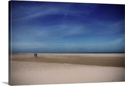 Solid-Faced Canvas Print Wall Art entitled Magic Light of Skagen