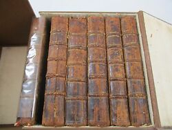 1749 Henry Fielding The History of Tom Jones A Foundling Six Volumes 1st Edition